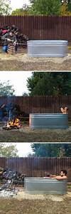 Diy Hot Tub For Your Backyard  Click Link To See The Video