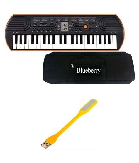Casio Sa-76 Keyboard 44 Keys With Bag
