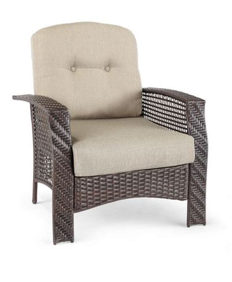 Woven Lounge Chair Walmart by Hometrends Tuscany Wicker Lounge Chair Walmart Ca