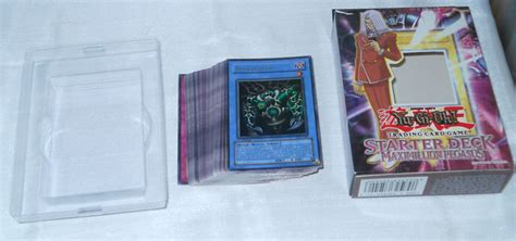 yu gi oh starter deck maximillion pegasus deluxe edition german 50 cards 16 karten cards
