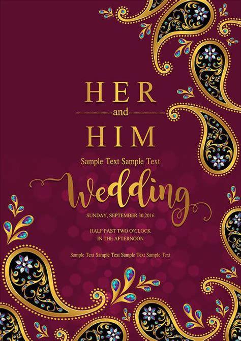 26 Elegant Indian Wedding Invitation Blank Template