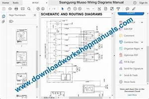 Ssangyong Musso Workshop Repair Manual Download
