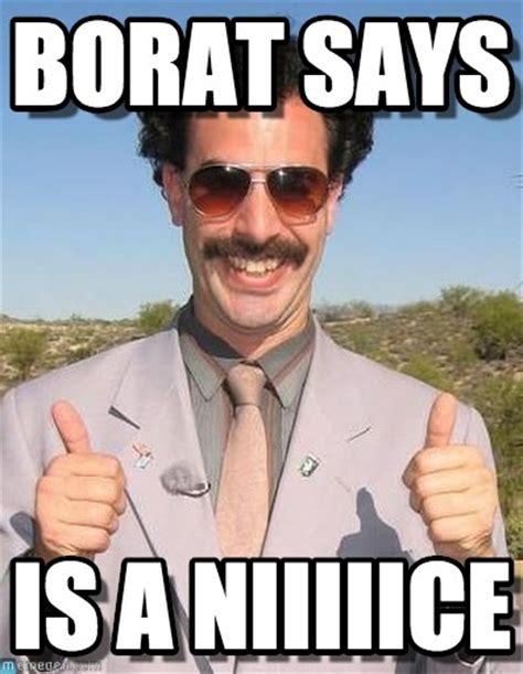 Borat Memes - borat thumbs up memes