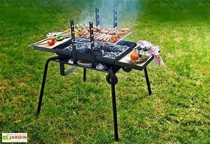 Prix D Un Barbecue : barbecue bras ro charbon de bois junior luxe feu roulant ~ Premium-room.com Idées de Décoration