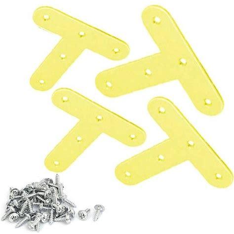 staffe x mensole 12x staffe t fai da te mensole acciaio fissaggio viti