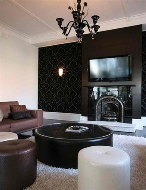 And Black Living Room Decorating Ideas by Black Furniture Living Room Ideas Decobizz