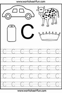 worksheetfun free printable worksheets kid activities With traceable letters for crafts