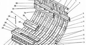 Midships Timbers Of A 1740s Bomb Vessel