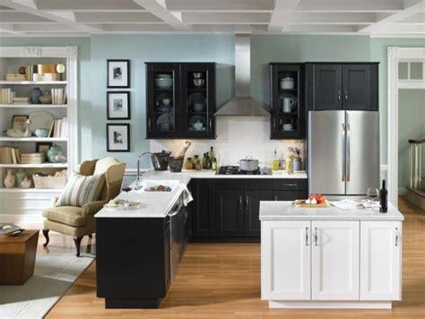 white and black kitchen designs les meilleurs am 233 nagements pour une cuisine 1728