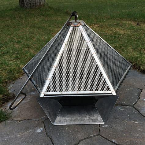Heavy Gauge Hexagonal Corten Steel Fire Pit Free Shipping
