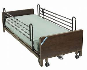 Drive 15235 Low Full Electric Hospital Bed Delta Mattress