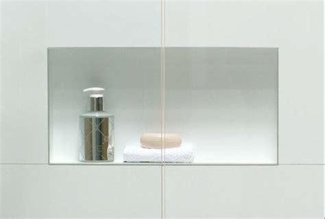 easyniche recessed product shelf atlantis bathroom style