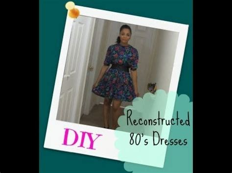 Diy Three Reconstructed, Upcycled Thrift Store Dresses