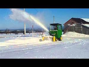 John Deere X530 Snowblower Part 2