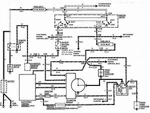 I Need From The Ignition Switch To The Starter Wire Diagram For A 1989 Ford Taurus 3 0 Engine