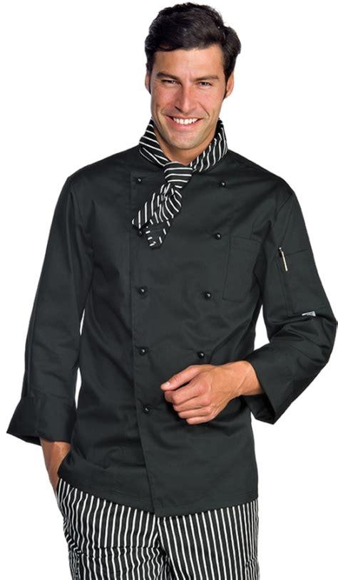 veste de cuisine homme brodé veste homme chef cuisinier 4xl noir polycoton vêtements