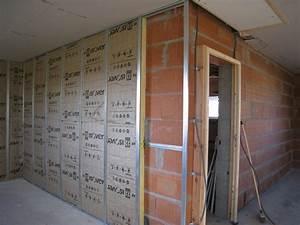 Doubler Un Mur En Placo Sur Rail : comment poser doublage placo la r ponse est sur ~ Dode.kayakingforconservation.com Idées de Décoration