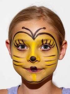 Karneval Schminken Tiere : s e kleine biene maja schminken kost m selber machen ~ Frokenaadalensverden.com Haus und Dekorationen