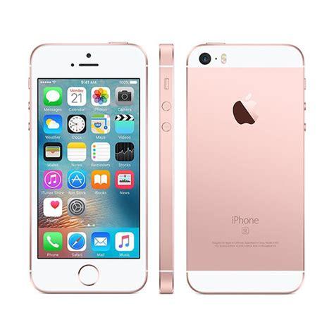 iphone pink gold apple iphone se 32gb gold pink cartronics Iphon