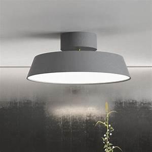 Nordlux alba led ceiling light grey semi flush lights