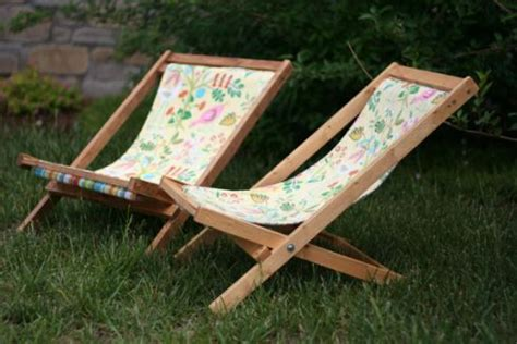 kid s sling chair diy outdoor furniture tutorials