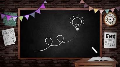 Blackboard Classroom Board Education Background Animation Creative