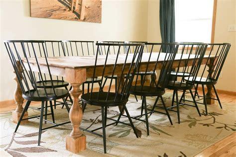 transform  contemporary dining table   farmhouse table