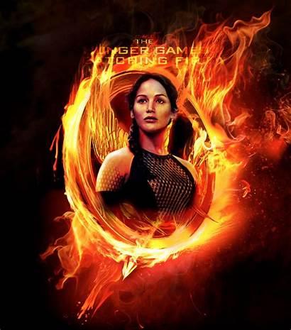 Hunger Games Fire Catching Deviantart Wallpapers Fan