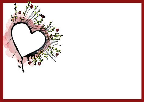 heart border  word   clip art