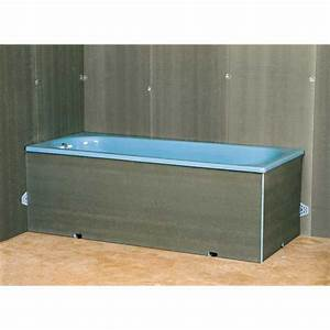 Tablier De Baignoire À Carreler : tablier pour baignoire droite salle de bains ~ Dode.kayakingforconservation.com Idées de Décoration