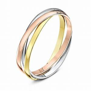9kt three colour gold 2mm russian wedding ring for Wedding ring companies