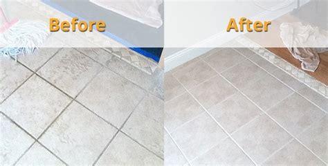 clean  grout   bathroom tiles quora