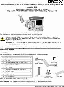 Philips Mnt89 Gcx Mounting Assembly Installation Guide