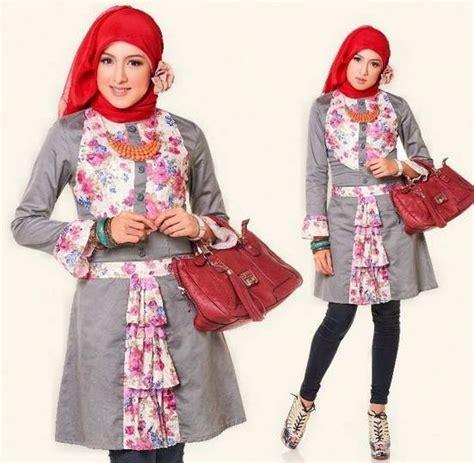 Fashion Wanita Dewasa 2015 15 Koleksi Desain Baju Atasan Muslim Wanita Terbaru 2017