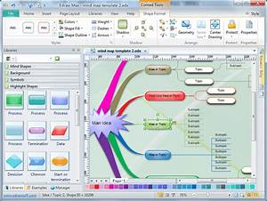 Example Of A Brainstorming Diagram Software
