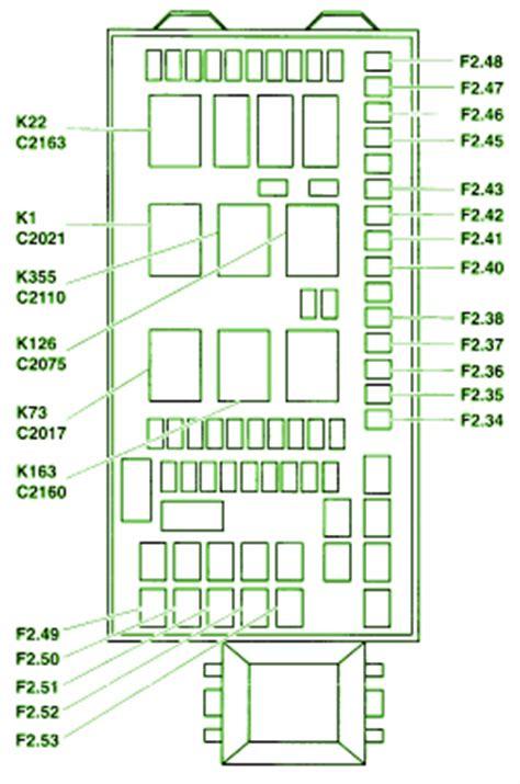 Ford Fuse Box Diagram Circuit Wiring Diagrams