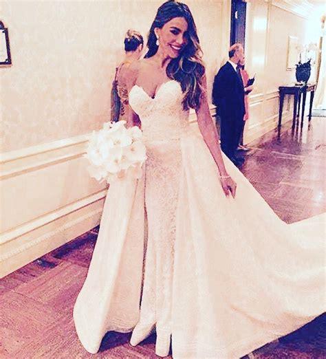 sofia vergara zuhair murad sofia vergara wedding dress by zuhair murad the dress by
