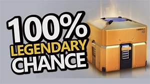 Golden Loot Box GUARANTEED LEGENDARY ITEM Overwatch