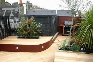 Sichtschutzpflanzen Für Terrasse : 24 neue ideen f r terrassengestaltung ~ Indierocktalk.com Haus und Dekorationen
