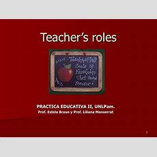 Teacher's Roles