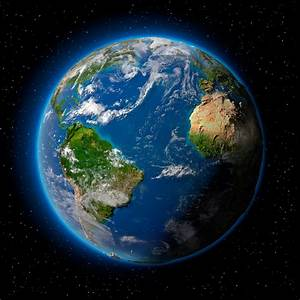 Planet Earth in Space - Pics about space