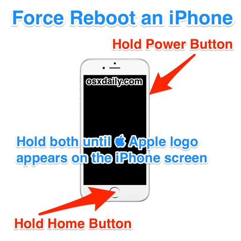 iphone restart how to reboot an iphone