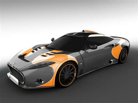 Spyker : Spyker To End C8 Aileron Production With Three Limited