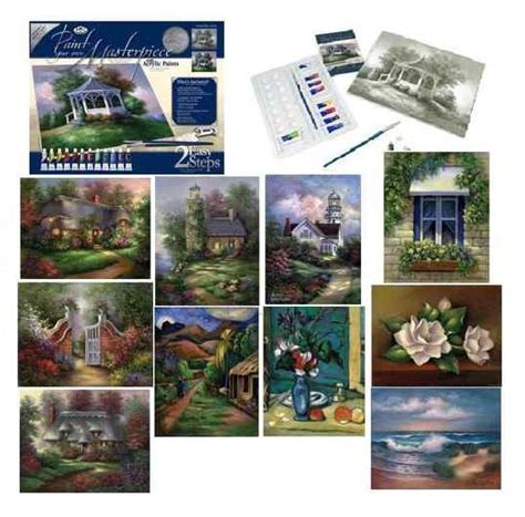 deluxe large canvas pictures like paint by numbers artist