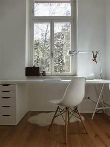 Weißer Schreibtisch Ikea : die 25 besten ideen zu ikea schreibtisch auf pinterest ikea handwerksraum b ro ikea und make ~ Orissabook.com Haus und Dekorationen