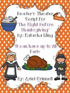 "Reader's Theater Script for ""The Night Before Thanksgiving ..."