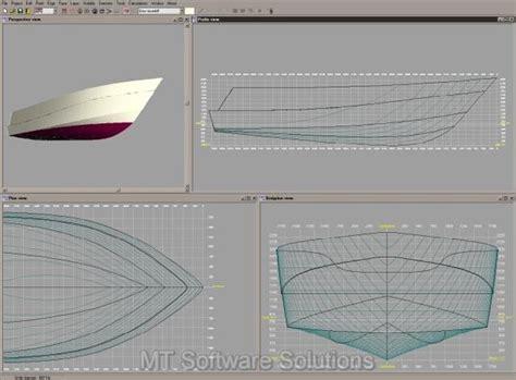 Boat Ship Hull Marine Design 3d Modelling Cad Software