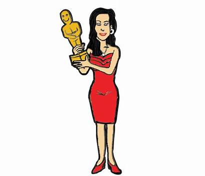 Clipart Actresses Clip Award Hollywood Clipground