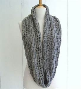 Quick and Easy KNITTING PATTERN for Chunky Cable Lace ...