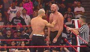 Tyson Fury knocks out Cesaro after brawl with Braun ...